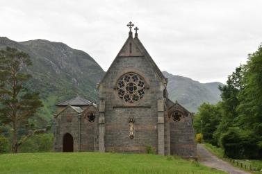 a random church in the highlands